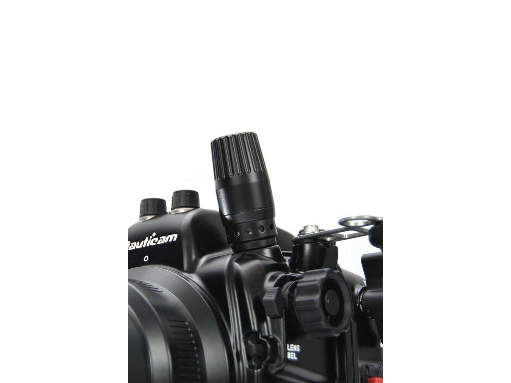 Nauticam M16 Dual Activation Vacuum Valve (compatible with low pressure inflator hose quick disconnect)