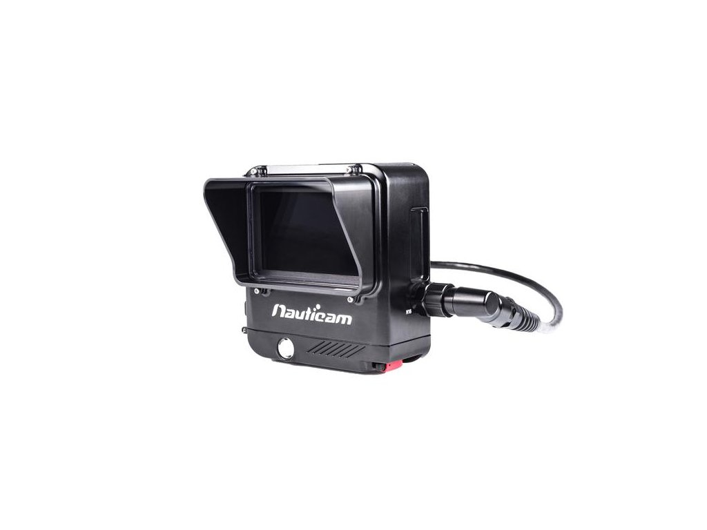 """Nauticam NA-RT4.7 Housing for REDTouch 4.7"""" LCD Monitor with Monitor Shade"""