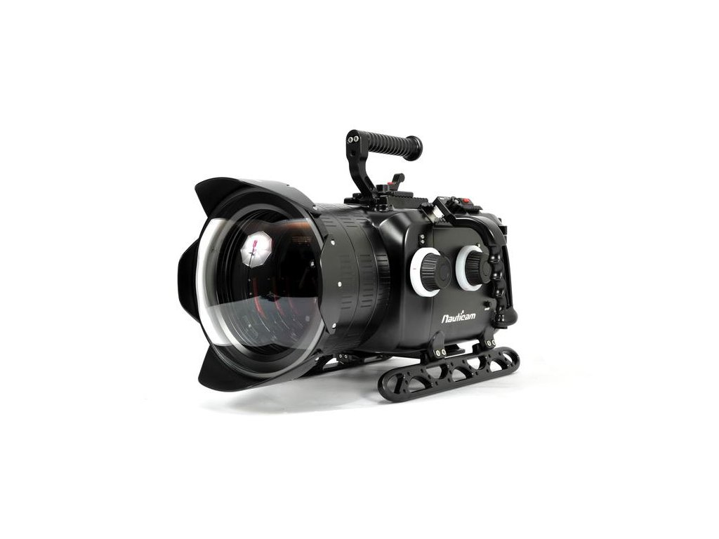 Nauticam Digital Cinema System for ARRI ALEXA Mini Camera (includes N200 250mm optical glass wide angle port, N200 extension rings 30, 40 and 50, and lens control drive shafts)