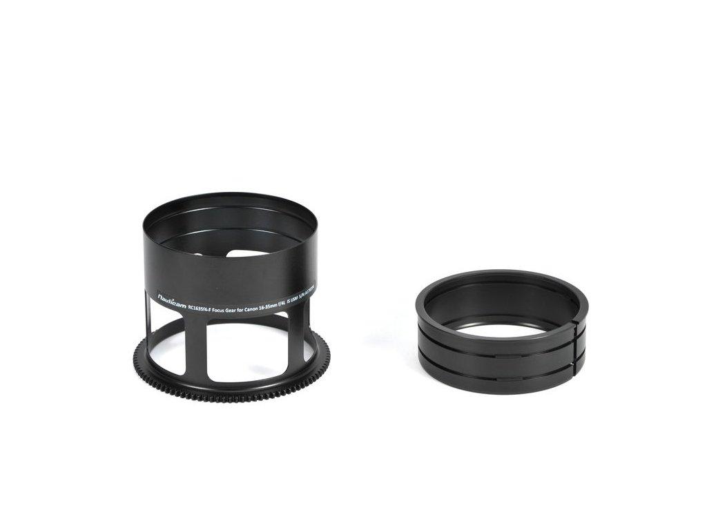 Nauticam ZC15-F Focus Gear for Zeiss Canon 15mm f/2.8 Distagon T* ZE Lens