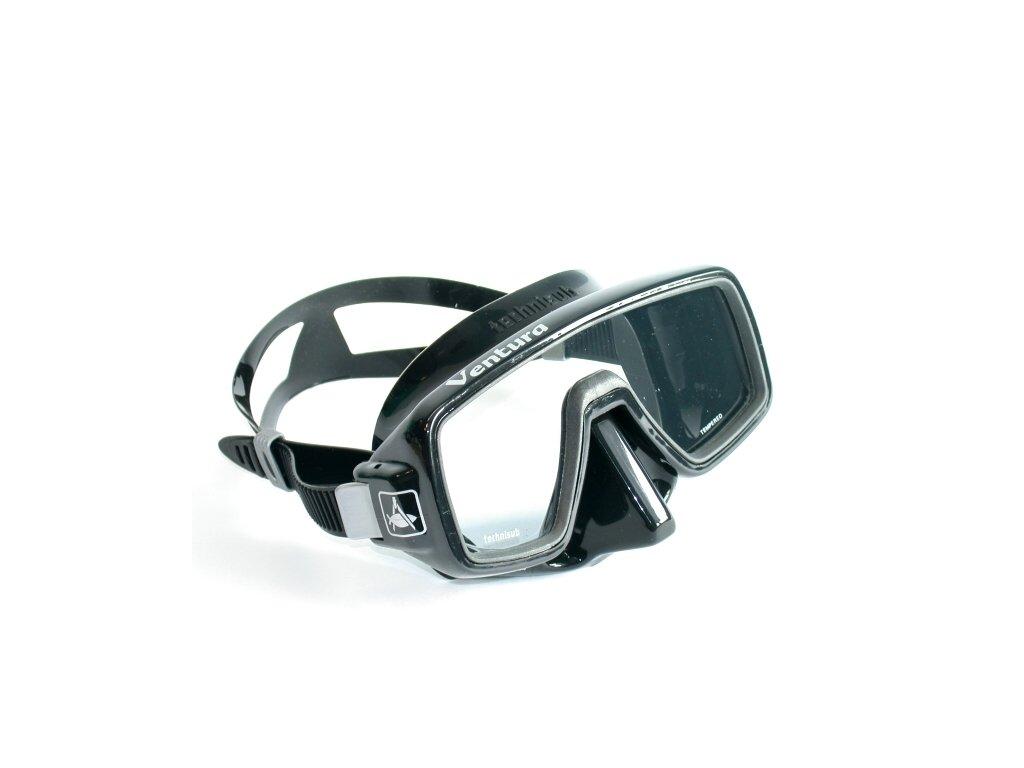 Aqualung Technisub Ventura, černý silikon, černá