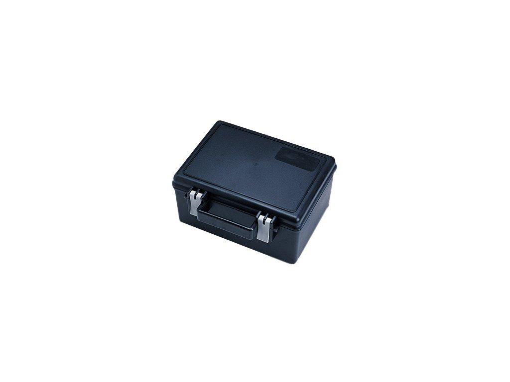 JTLine vodotěsný box, 22x16x12cm, černý