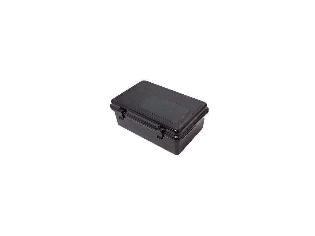 JTLine vodotěsný box, 21x14x8cm, černý