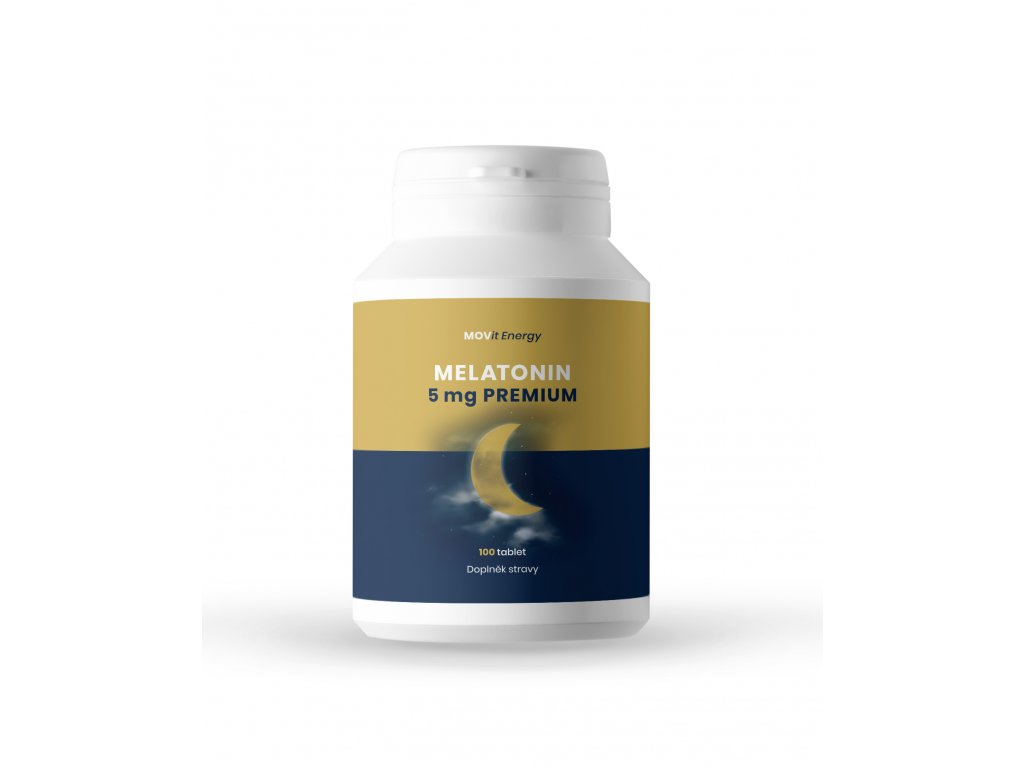 Melatonin Premium 5 mg, 100 tablet
