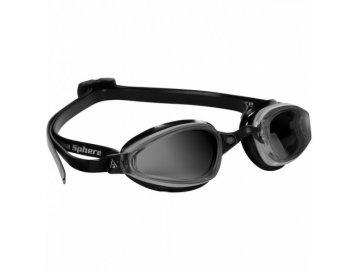 K180 tmavý zorník černá transparentní