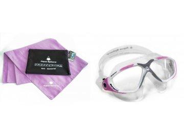 Aqua Sphere dámské plavecké brýle VISTA LADY ručník KING SIZE MAGIC TOWEL