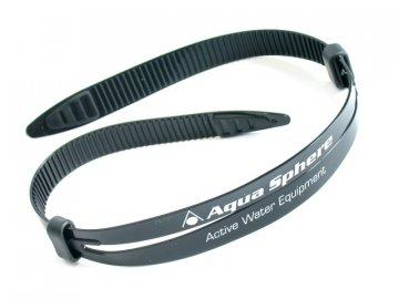 Aqua Sphere silikonový pásek SEAL k brýlím černý 16mm