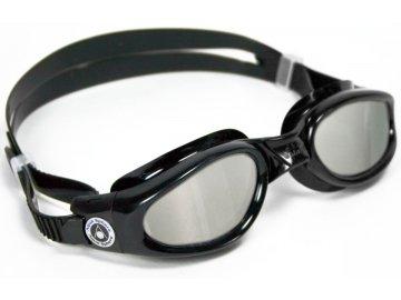 Aqua Sphere plavecké brýle Kaiman zrcadlový zorník černá