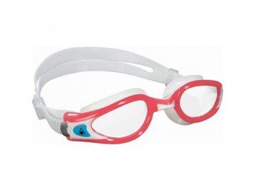 Aqua Sphere plavecké brýle Kaiman EXO LADY čirý zorník světle červená