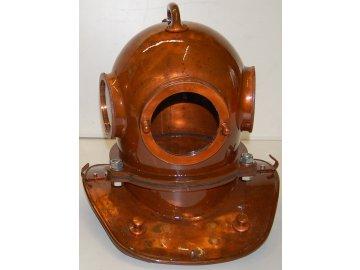 Potápěčská přilba - replika - plně funkční