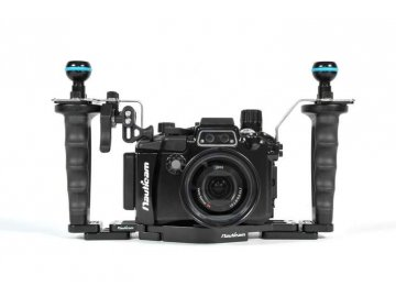 Nauticam NA-RX100V Pro Package(Inc.flexitray, right handle, two mounting balls,M14 vacuumvalve, shutter extension)