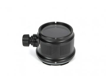 Nauticam Macro port 45 with Focus/Zoom knob for Sony E mount 30mm f/3.5 Macro & Sony E mount PZ 16-50mm F3.5-5.6 OSS