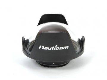Nauticam N85 140mm optical glass fisheye port