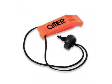 Omer píšťalka WHISTLE oranžová
