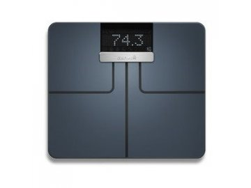 Garmin Index Black - chytrá váha (černá barva)