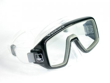 Aqualung Technisub Ventura, transparent silikon, černá