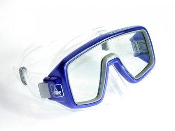 Aqualung Technisub Ventura, transparent silikon, modrá