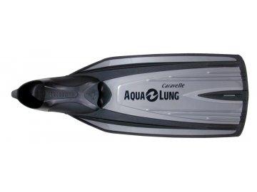 =Výprodej= Aqualung Technisub ploutve Caravelle, Matně stříbrná