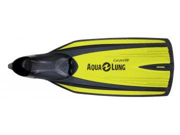 =Výprodej= Aqualung Technisub ploutve Caravelle, Žlutá Lime