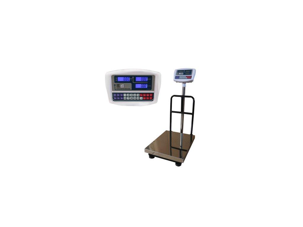 Můstková váha TCS do 300 kg/50 g 40x50 cm s opěrou