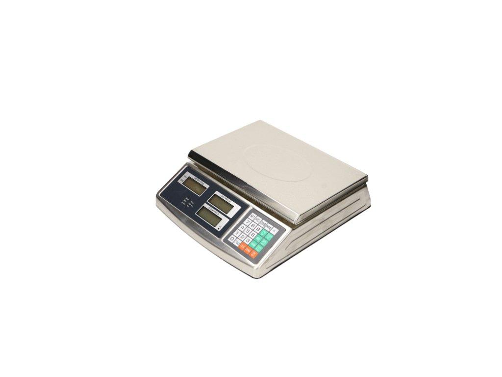 258 nerezova digitalna stolova vaha acs do 30kg 1g