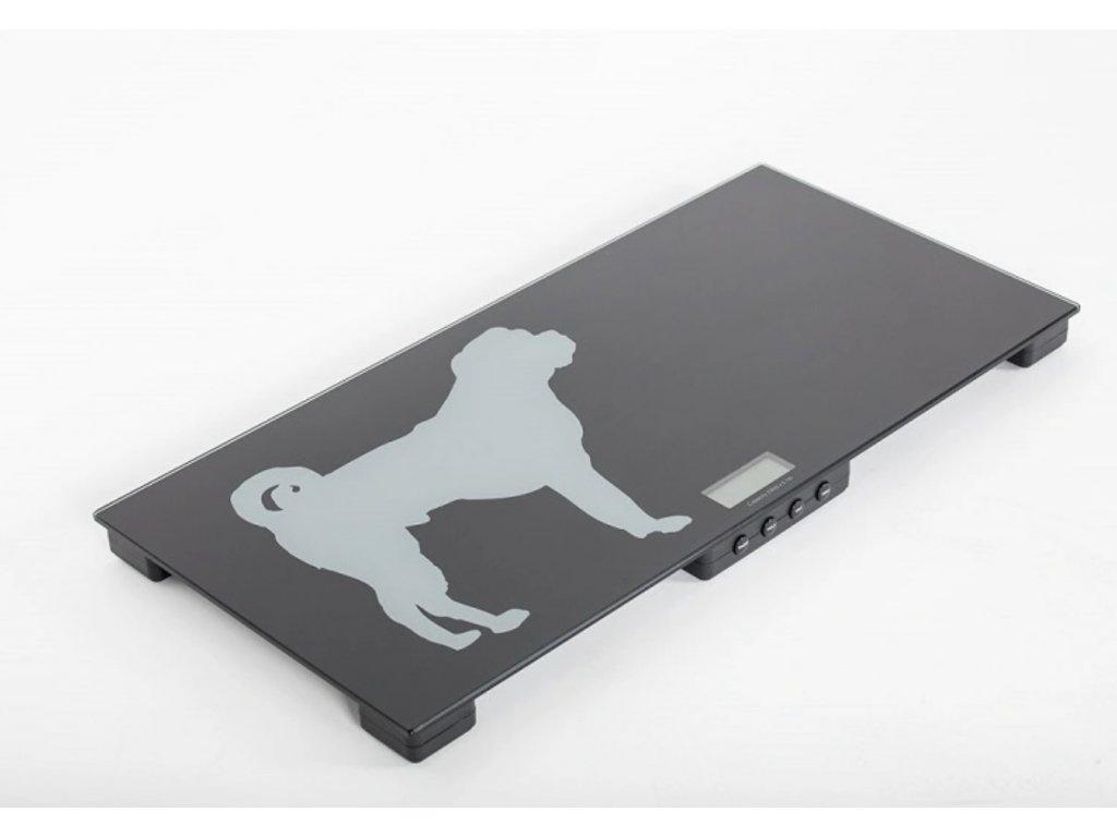 Váha pro vážení zvířat LC-VC do 150 kg/50 g 84x40 cm
