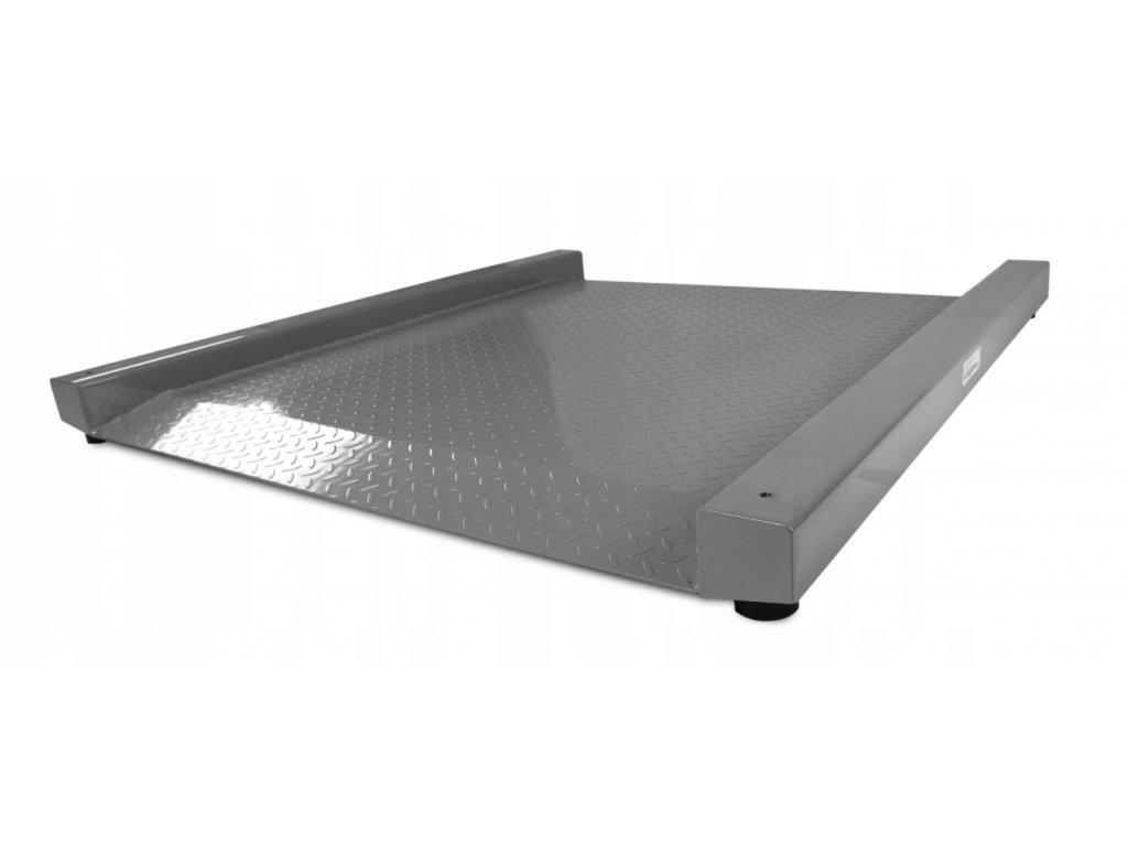 Nájezdová snížená podlahová váha do 5 tun 1,5x1,5 m