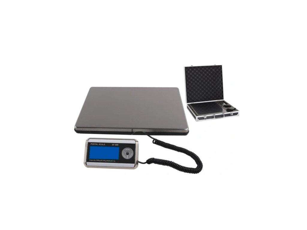 Balíková váha SF889 do 150 kg/50 g 30x39 cm s kufrem