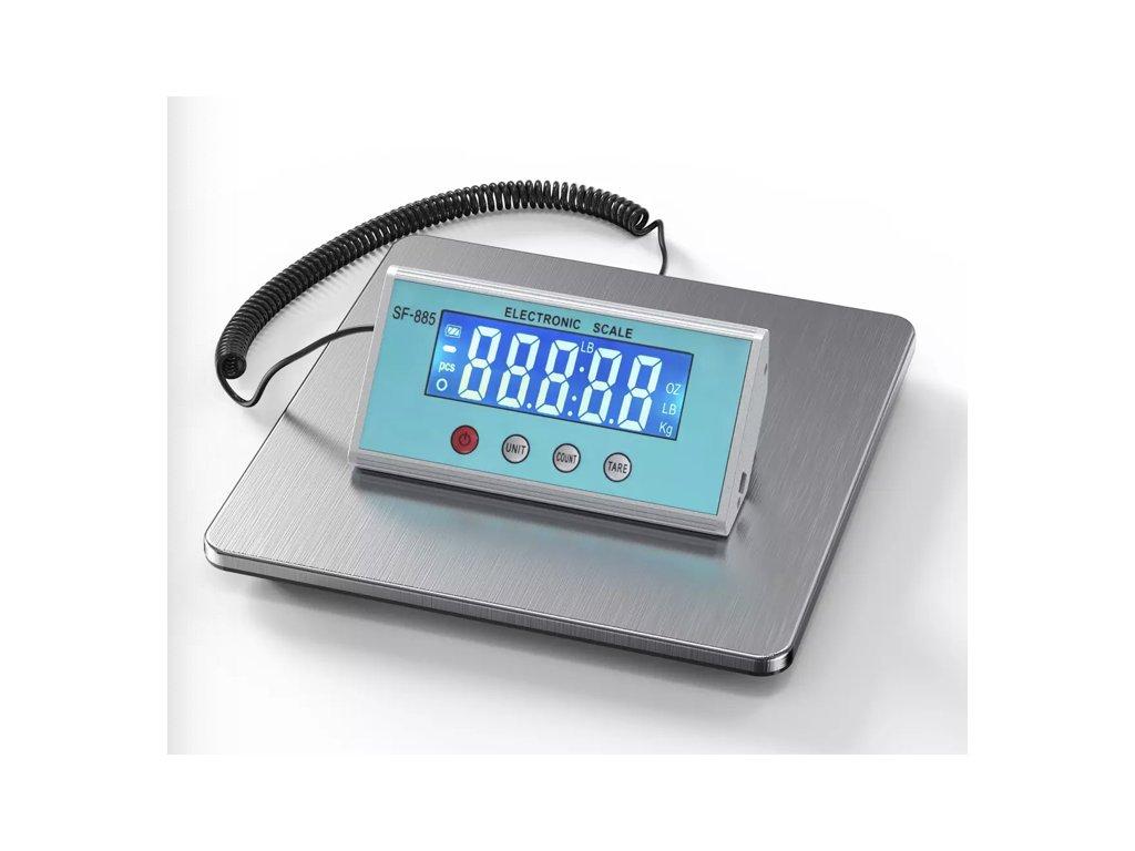 Balíková váha SF885 do 200 kg/50 g 25x25 cm
