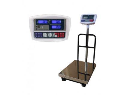 Můstková váha TCS do 500 kg/100 g 45x60 cm s opěrkou