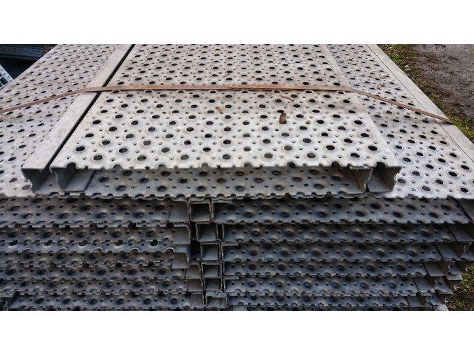 Profilový rošt zinkovaný  RUND-400-40/2-1112mm