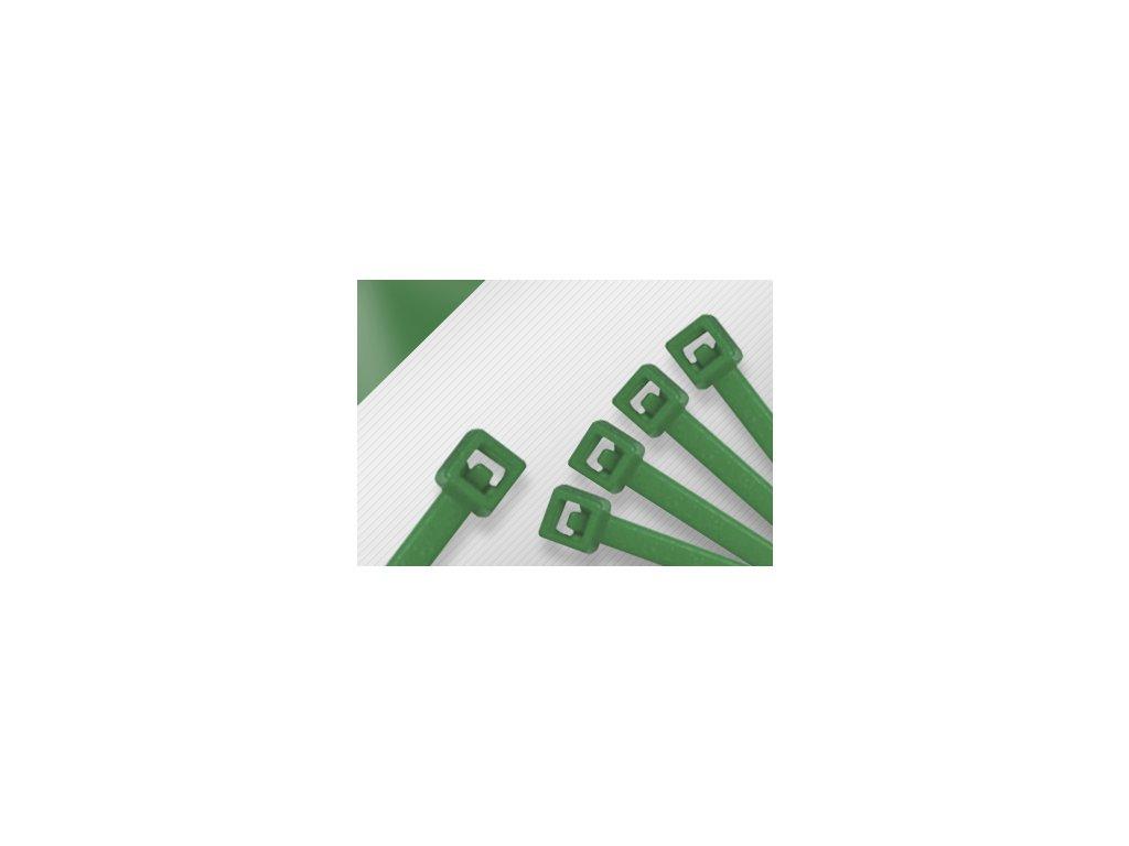 Stahovací páska STANDARD zelená obr. 1