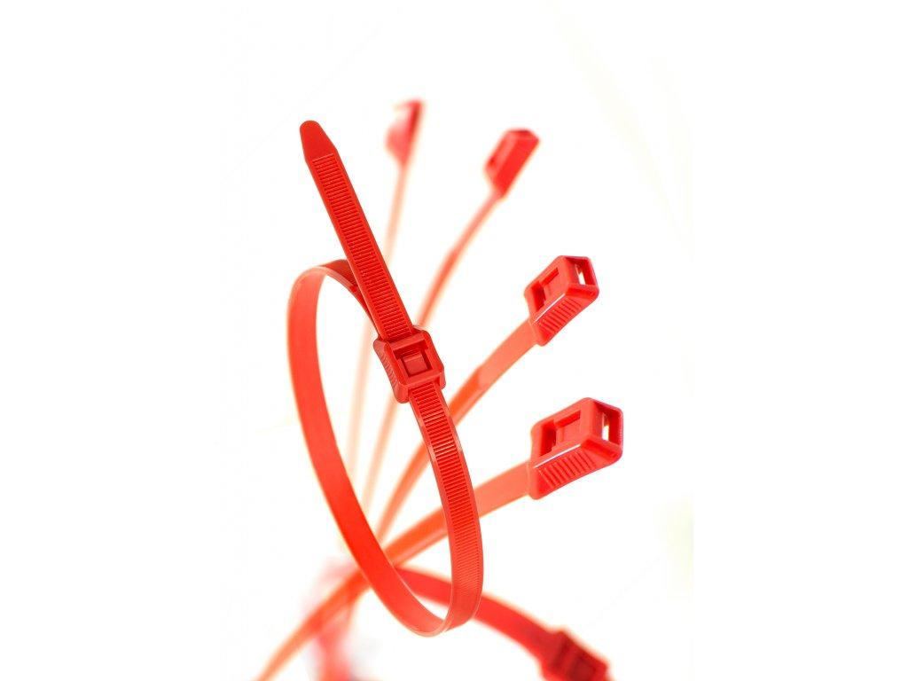 Stahovací páska pro dětská hřiště červená obr. 1
