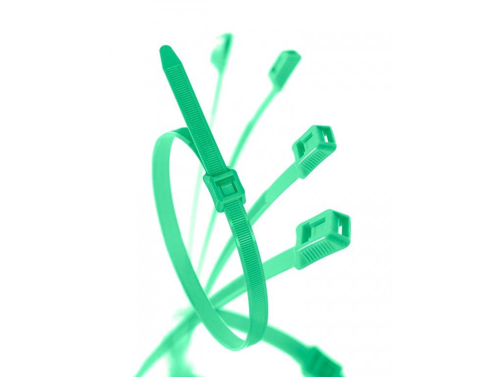 Stahovací páska pro dětská hřiště zelená obr. 1