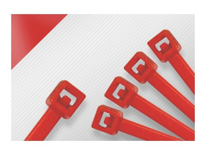 Stahovací páska STANDARD červená obr. 1