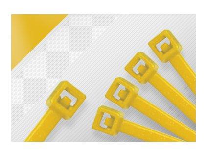 Stahovací páska STANDARD žlutá obr. 1