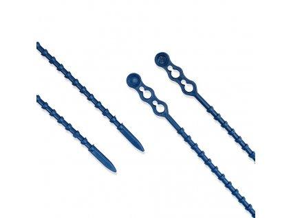 Stahovací páska detekovatelná kul modrá obr. 2