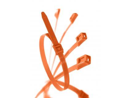 Stahovací páska pro dětská hřiště oranžová obr. 1