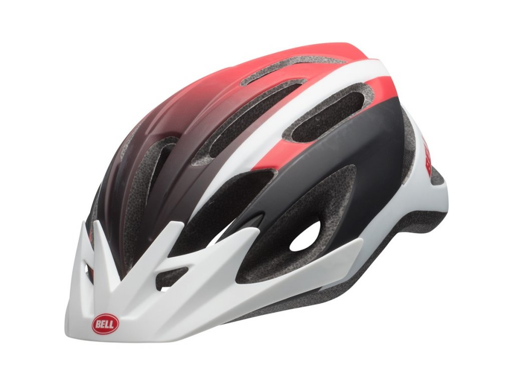 cyklistická přilba BELL Crest Mat White Red Black 1