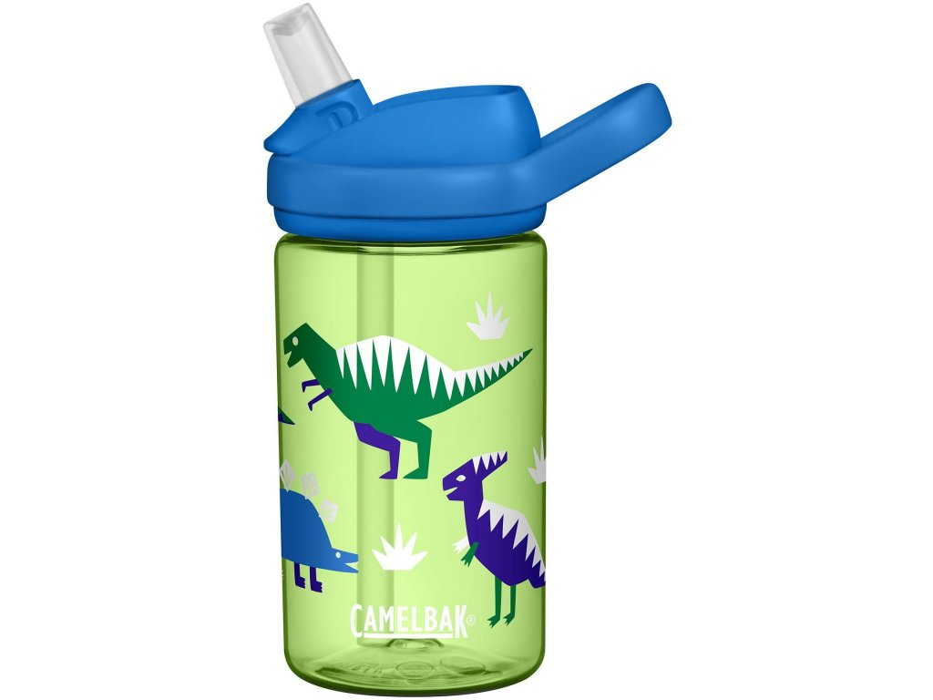 Láhev Camelbak Eddy+ Kids Hip Dinos Green 400ml