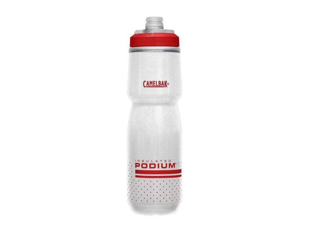 Láhev Camelbak Podium Chill 710 ml RedWhite 1873605071