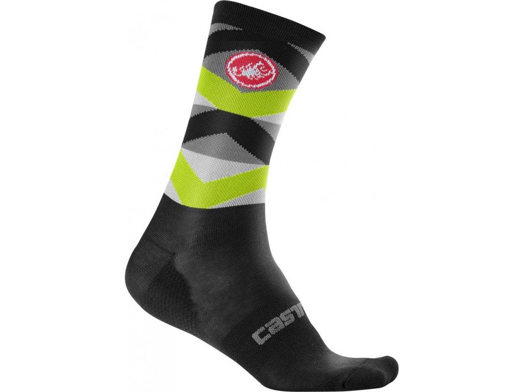 Cyklistické ponožky Castelli Fatto 12 cm