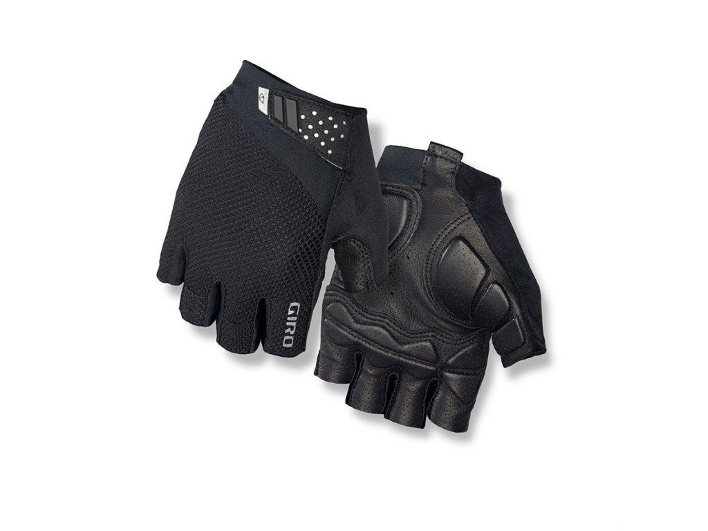 cyklistické rukavice giro monaco II black