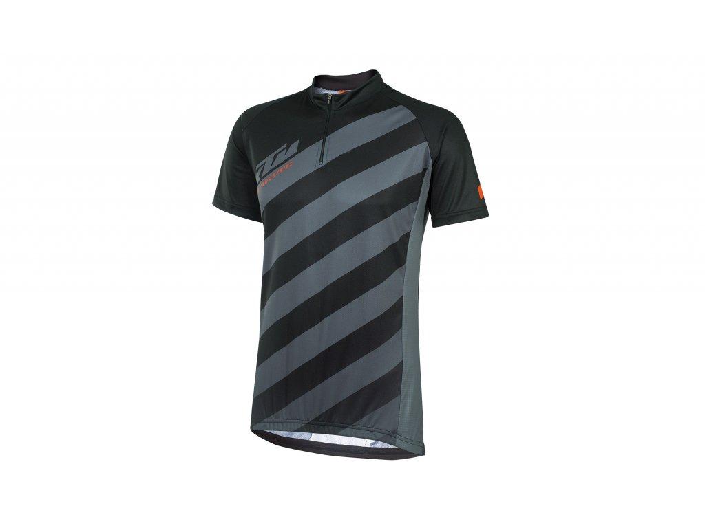 Pánský cyklistický dres KTM Factory Character black grey 659271058