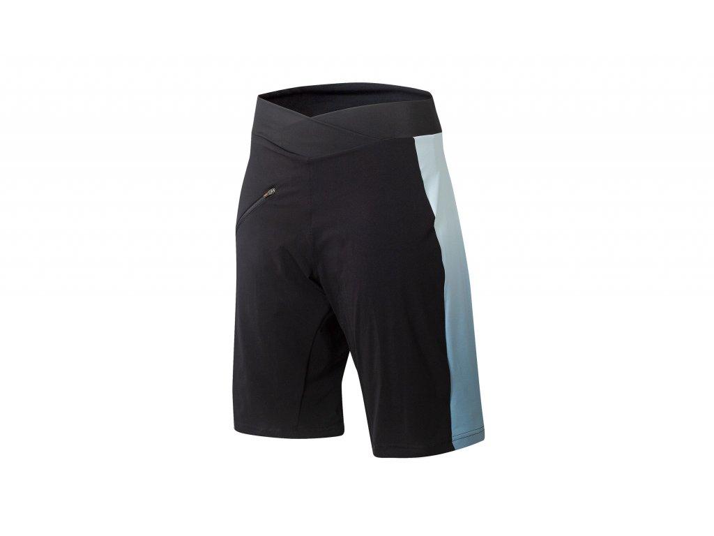 Cyklistické kalhoty KTM Lady Character Race BIB Short black/blue 6593080
