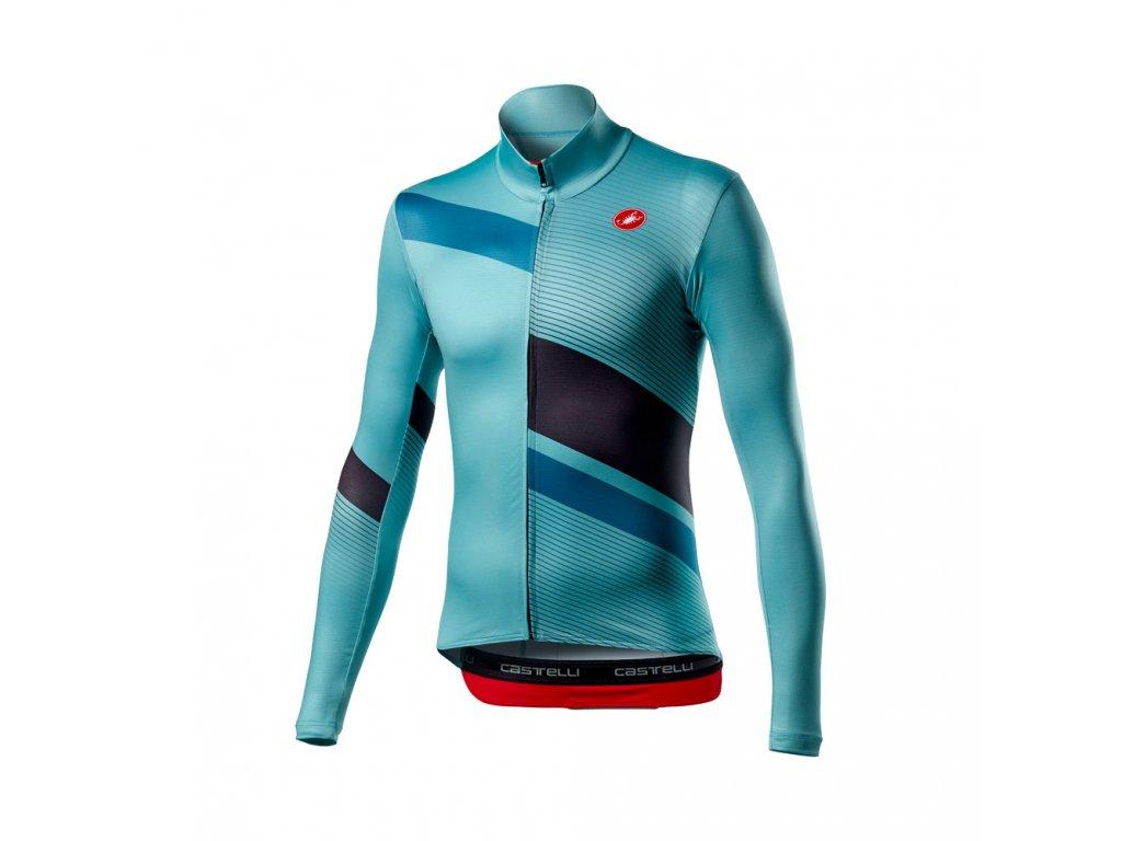 Cyklistický dres Castelli Mid Thermal Pro