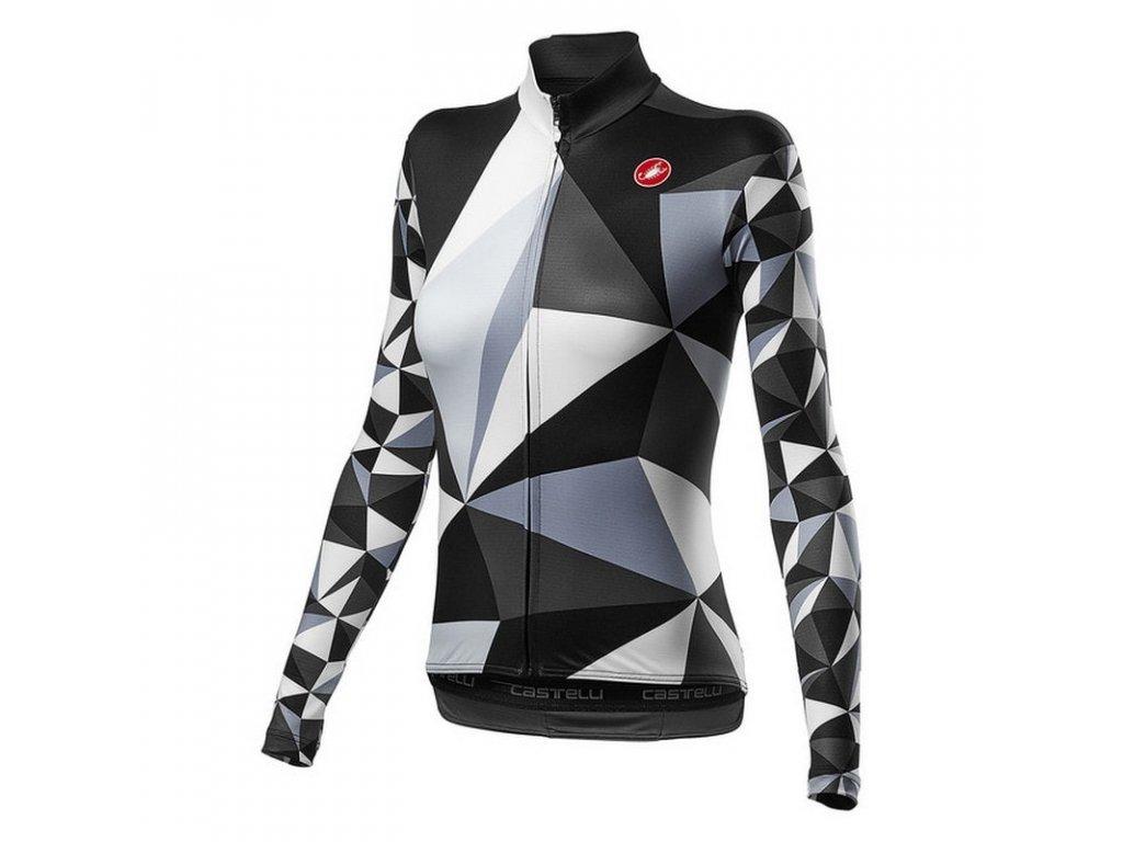 Cyklistický dres Castelli Triangolo Mid 4520561 101
