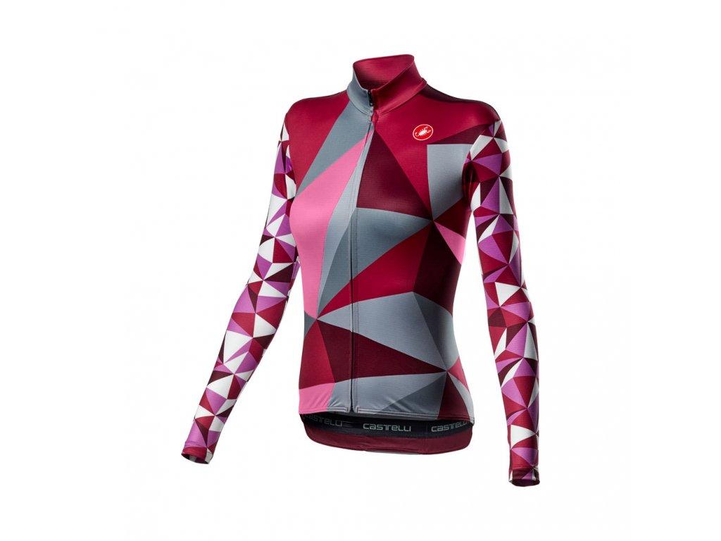Cyklistický dres Castelli Triangolo Mid 4520561 991
