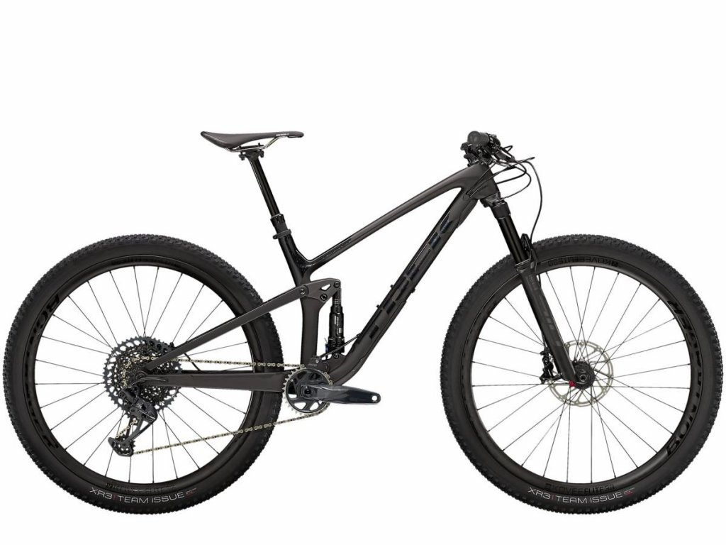 Kolo TREK Top Fuel 9 8 GX 2021 Matte Raw Carbon Voodoo Trek Black 1