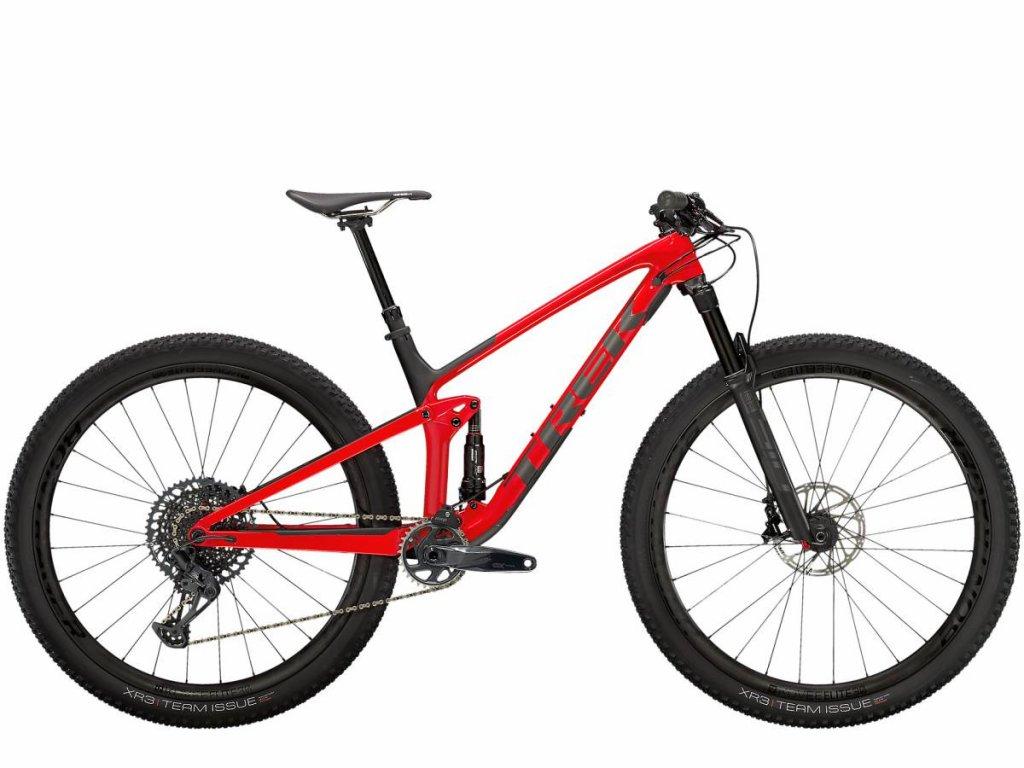 Kolo TREK Top Fuel 9 8 GX 2021 Gloss Red Matte Carbon Smoke 1